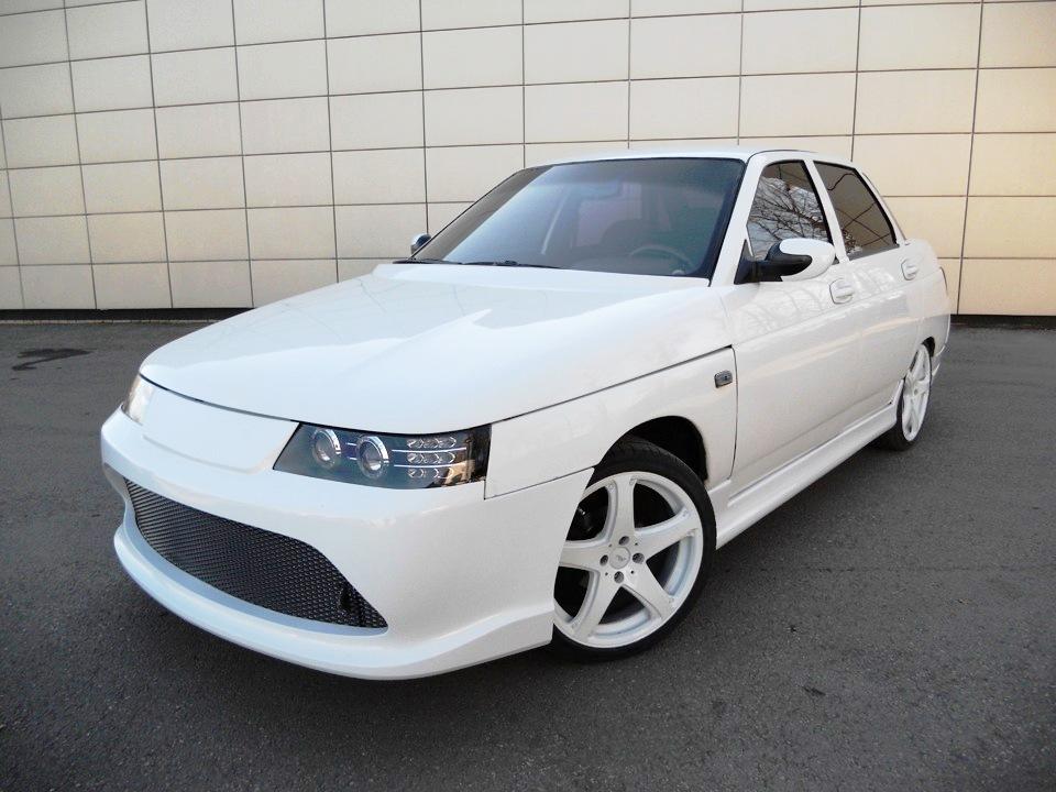 Передний бампер «Fanat RS (Фанат RS)» для Ваз 2110, 2111, 2112, Богдан