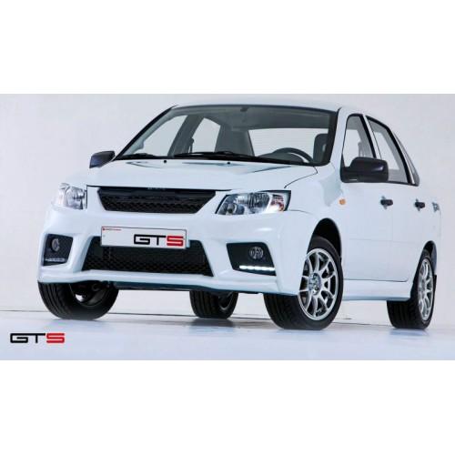 Комплект обвеса GTS на ВАЗ 2190 Лада Гранта