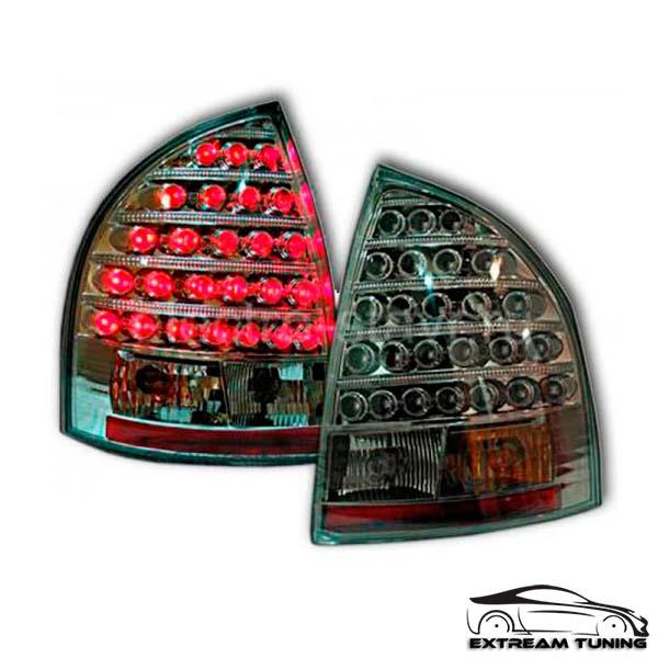 Задние фонари Лада Калина (седан), светодиодные, черный хром