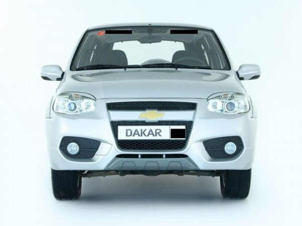 Бампер передний Chevrolet Niva Dakar