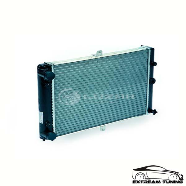 Радиатор охлаждения алюминиевый  SPORT LUZAR  (теплоотдача +25%) 2110-12