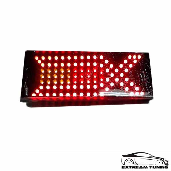 Задние тюнинг светодиодные фонари ВАЗ 2109, 2114 «X Style» иксы