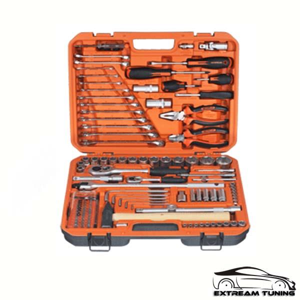 Набор инструмента 110пр. 1/2″DR 1/4″DR АвтоDело»Professional»